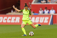 Bridgeview, IL - Wednesday August 16, 2017: Carson Pickett during a regular season National Women's Soccer League (NWSL) match between the Chicago Red Stars and the Seattle Reign FC at Toyota Park.