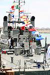 MEXICAN NAVAL WARSHIP on NAVY DAY