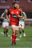 Scorer of the opening try, Nathan Morris of London Welsh, during the Greene King IPA Championship match between Ealing Trailfinders and London Welsh RFC at Castle Bar , West Ealing , England  on 26 November 2016. Photo by David Horn / PRiME Media Images