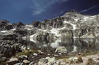 Europe/France/Midi-Pyrénées/65/Hautes-Pyrénées/Parc National des Pyrénées/Env Cauterets: Soum de Bassia (2758 mètres) et Lac de Pourtet