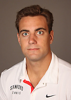 STANFORD, CA - NOVEMBER 16:  Paul Morrissey of the Stanford Cardinal during men's tennis picture day on November 16, 2009 in Stanford, California.