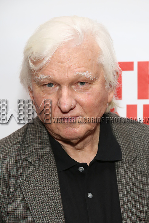 """David Rabe  attends The New Group presents the New York Premiere Opening Night of David Rabe's for """"Good for Otto"""" on March 8, 2018 at the Green Fig Urban Eatery,  in New York City."""