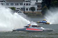 "John Shaw, E-54 ""White Trash"", Martin Rochon, H-773    (H350 Hydro) (5 Litre class hydroplane(s)"