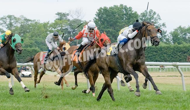 Inauguration winning at Delaware Park on 7/21/12