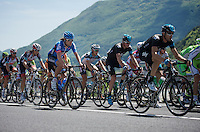 2013 Giro d'Italia.stage 11.Tarvisio - Vajont: 182km..Thomas Dekker (NLD) in the pack..
