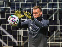 Torwart Bernd Leno (Deutschland Germany) - 18.11.2019: Deutschland Abschlusstraining, Commerzbank Arena Frankfurt, EM-Qualifikation DISCLAIMER: DFB regulations prohibit any use of photographs as image sequences and/or quasi-video.
