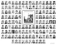 The 2012 Yale Divinity School Senior Portraits Composite Photograph. Black and White Version.
