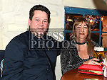 Fergal and Geraldine Bell enjoying the new years eve celebrations in The Thatch. . Photo:Colin Bell/pressphotos.ie