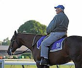 Hall of Fame trainer Allen Jerkens was back in the saddle again.