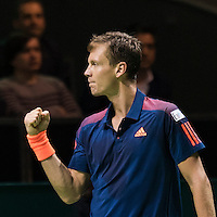 ABN AMRO World Tennis Tournament, Rotterdam, The Netherlands, 13 februari, 2017, Tomas Berdych (CZE)<br />