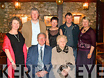 Batt and Margaret Maher, Drombeg, Listowel with their children Angela, Tony, Majella, Brendan and Christine at their golden jubilee celebration at The Thatch Bar and Restaurant in Lisselton recently.
