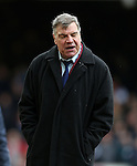 West Ham's Sam Allardyce looks on dejected<br /> <br /> Barclays Premier League - West Ham United  vs Crystal Palace  - Upton Park - England - 28th February 2015 - Picture David Klein/Sportimage
