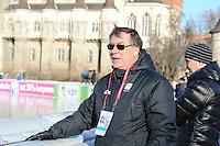SCHAATSEN: BOEDAPEST: Essent ISU European Championships, 07-01-2012, Rolf Hauge, manager van het Noorse Team CBA, ©foto Martin de Jong