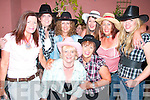 Enjoying the barn dance in aid of the local national school at Herbrt's bar Kilflynn on Saturday night were Christine Collins, Bridget Mcarthy, Phil Dunsworth Linda Moriarty, Patricia Galvin, Christine McCaffery, Catherine Howard and Deirdre.   Copyright Kerry's Eye 2008