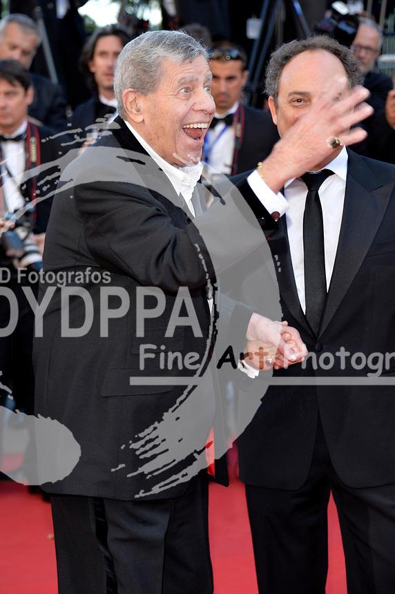 Jerry Lewis und Kevin Pollak bei der Premiere von 'Nebraska'. Festival de Cannes 2013 / 66. Internationale Filmfestspiele von Cannes / 66th Annual Cannes Film Festival, 23.05.2013