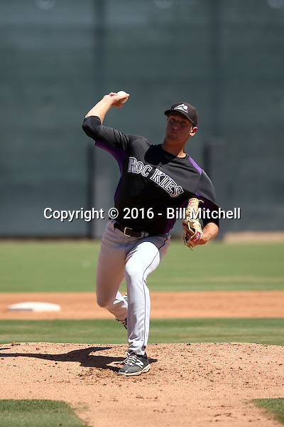 Mike Nikorak - Colorado Rockies 2016 extended spring training (Bill Mitchell)