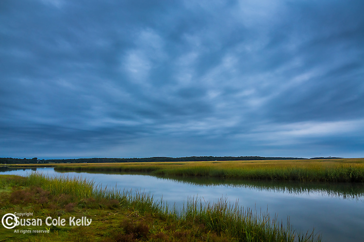 The Salt Pond in Eastham, Cape Cod, Massachusetts, USA