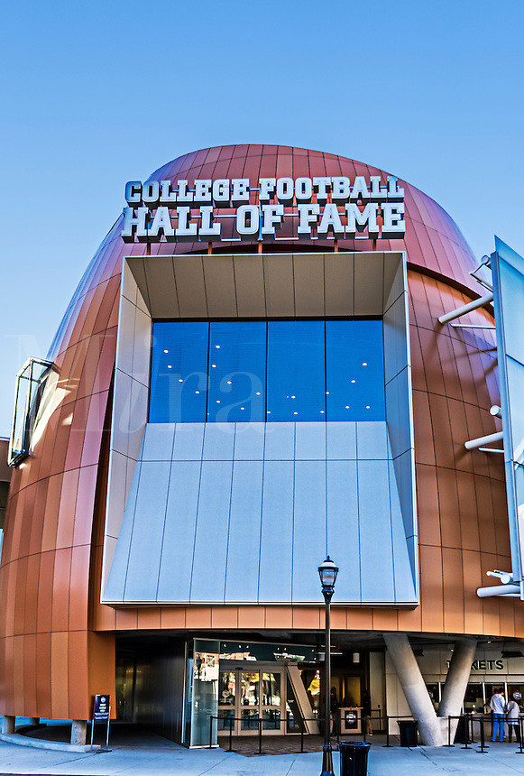 College Football Hall of Fame, Atlanta, Georgia, USA