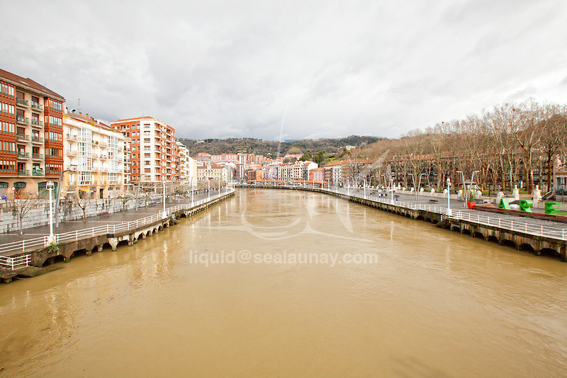 Bilbao during the Sail In Festival, Bilbao<br /> is a municipality and city in Spain in the province of Biscay in the autonomous community of the Basque Country.