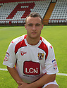 Peter Winn of Stevenage at the Stevenage FC team photo shoot at The Lamex Stadium, Broadhall Way, Stevenage on Saturday, 24th July, 2010.© Kevin Coleman 2010