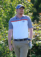 Ruairi O'Connor (Co. Sligo) on the 3rd tee during the Connacht Final of the AIG Barton Shield at Galway Bay Golf Club, Galway, Co Galway. 11/08/2017<br /> <br /> Picture: Golffile | Thos Caffrey<br /> <br /> <br /> All photo usage must carry mandatory copyright credit     (&copy; Golffile | Thos Caffrey)