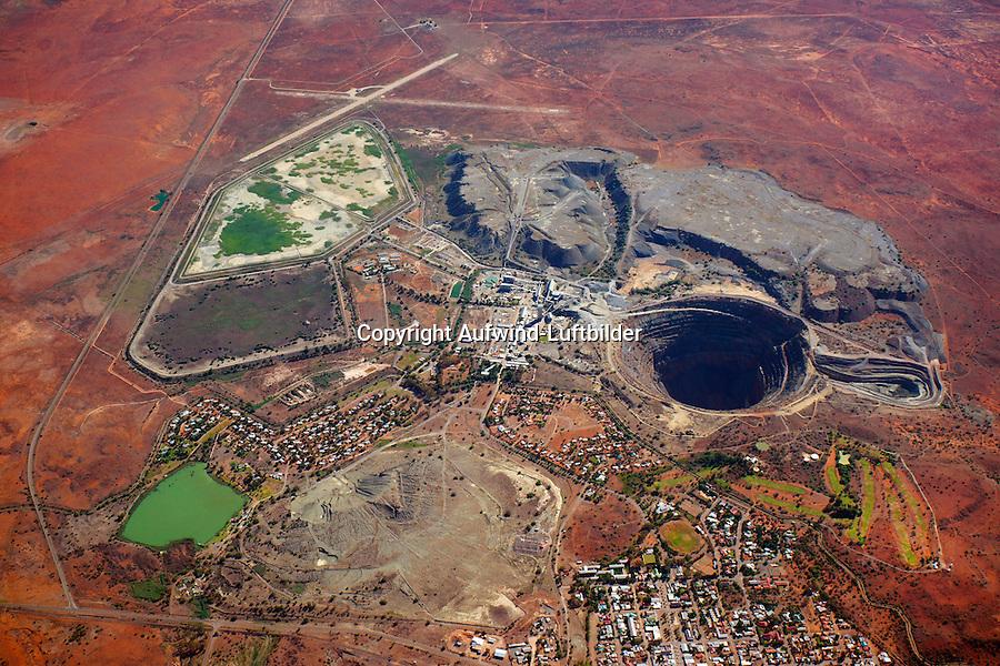 Diamantenmine Koffiefontain: AFRIKA, SUEDAFRIKA, FREE STATE, 11.01.2014: Diamantenmine Koffiefontain