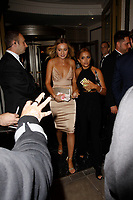 LONDON, ENGLAND - SEPTEMBER 10 :  Tilly Keeper leaves the TV Choice Awards 2018, at The Dorchester hotel, on September 10, 2018 in London, England.<br /> CAP/AH<br /> &copy;AH/Capital Pictures