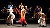 Paco Pena Flamenco Dance Company <br /> Quimeras<br /> at Sadler's Wells, London, Great Britain <br /> 23rd November 2012 <br /> press photocall<br /> <br /> Angel Munoz<br /> <br /> Charo Espino<br /> <br /> Carmen Rios<br /> <br /> Cristobal Garcia <br /> <br /> Alboury Dabo<br /> <br /> Ibrahim Gassana<br /> <br /> Marisa Camara<br />  <br /> Paco Pena<br /> Paco Arriaga<br /> Rafael Montilla<br /> Jose Angel Carmona<br /> Delia Membrive<br /> Julio Alcocer<br /> Aboubacar Syla<br /> Soumalia Sissokho Kante<br /> Carlos Talez<br /> <br /> Photograph by Elliott Franks