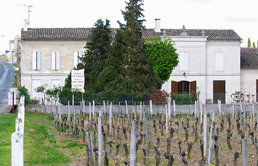 chateau cadet pontet saint emilion bordeaux france