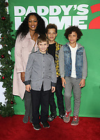 04 November 2017 - Westwood, California - Garcelle Beauvais, Jaid Thomas Nilon, Jax Joseph Nilon, Oliver Saunders. &quot;Daddy's Home 2&quot; Los Angeles Premiere held at Regency Village Theatre. <br /> CAP/ADM/FS<br /> &copy;FS/ADM/Capital Pictures