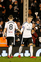 GOAL - Tom Cairney of Fulham FC makes it 3-0 during the Sky Bet Championship match between Fulham and Sheff United at Craven Cottage, London, England on 6 March 2018. Photo by Carlton Myrie.