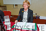 Karla McBride (Inspector for An Bord Pleanála) chairs the Oral hearing on the South Kerry Greenway in the Manor West Hotel on Tuesday morning