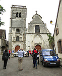 VMI Vincentian Heritage Tour: Members of the VMI visit Joigny France Thursday, June 30, 2016, home of the L'église Saint-André. (DePaul University/Jamie Moncrief)