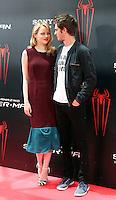 Emma Stone, Andrew Garfield - The Amazing Spider-Man - photocall in Madrid NORTEPHOTO.COM<br /> **SOLO*VENTA*EN*MEXICO**<br /> **CREDITO*OBLIGATORIO** <br /> *No*Venta*A*Terceros*