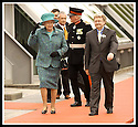 24/05/2002                   Copyright Pic : James Stewart.File Name : stewart-queen falkirk  07.QUEEN ELIZABETH II CONTINUES TO KEEP A GRIP OF HER HAT AT THE FALKIRK WHEEL.....Payments to :-.James Stewart Photo Agency, 19 Carronlea Drive, Falkirk. FK2 8DN      Vat Reg No. 607 6932 25.Office     : +44 (0)1324 570906     .Mobile  : +44 (0)7721 416997.Fax         :  +44 (0)1324 570906.E-mail  :  jim@jspa.co.uk.If you require further information then contact Jim Stewart on any of the numbers above.........