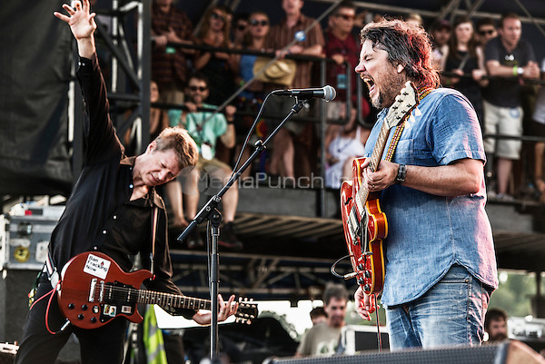 WIlco photographed at Lockn Music Festival in Arrington, VA September 7, 2014© Jay Blakesberg / MediaPunch