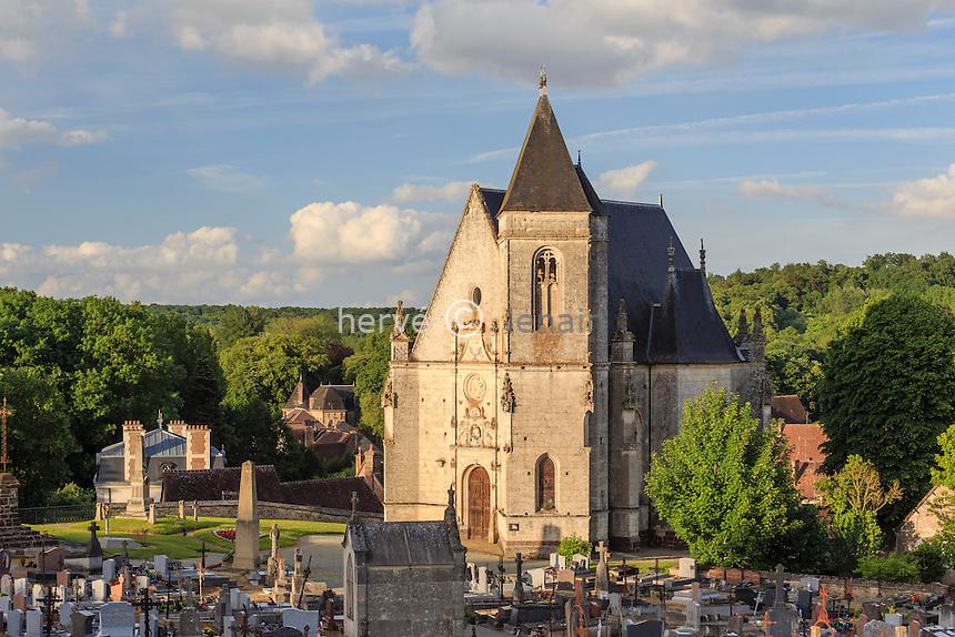 France, Orne (61), Longny-au-Perche, chapelle Notre-Dame de la Pitié // France, Orne, Longny au Perche, chapel Notre Dame de la Pitie