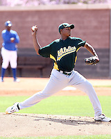 Joselito Adames, Oakland Athletics 2010 extended spring training..Photo by:  Bill Mitchell/Four Seam Images.