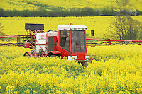 David Clayton, North Wingfield, Derbyshire. FW Sprayer Operator of the Year competitor.