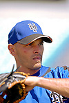 15 March 2006: Chris Woodward, infielder for the New York Mets, prior to a Spring Training game against the Washington Nationals. The Mets defeated the Nationals 8-5 at Space Coast Stadium, in Viera, Florida...Mandatory Photo Credit: Ed Wolfstein..