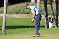 Martin Kaymer (GER) putts on the 16th green during Friday's Round 2 of the 2018 Turkish Airlines Open hosted by Regnum Carya Golf &amp; Spa Resort, Antalya, Turkey. 2nd November 2018.<br /> Picture: Eoin Clarke | Golffile<br /> <br /> <br /> All photos usage must carry mandatory copyright credit (&copy; Golffile | Eoin Clarke)