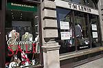 Expensive upmarket specialist gentlemen´s tailor shops, Jermyn Street, London, England