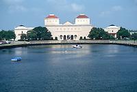 1993 August 19..Conservation.Ghent (R-43)..CHRYSLER MUSEUM.LOOKING EAST FROM HAGUE BRIDGE...NEG#.NRHA#..