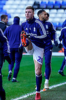 4th January 2020; St Andrews, Birmingham, Midlands, England; English FA Cup Football, Birmingham City versus Blackburn Rovers; Gary Gardner of Birmingham City warms-up prior to the match - Strictly Editorial Use Only. No use with unauthorized audio, video, data, fixture lists, club/league logos or 'live' services. Online in-match use limited to 120 images, no video emulation. No use in betting, games or single club/league/player publications
