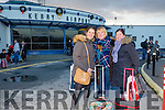 People home for Christmas arriving at Kerry Airport on Monday were Sorcha Newman, Charlotte Newman and  meeting them was Gloria Newman from Tralee who are coming home for Christmas from Germany