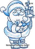 Interlitho-Theresa, CHRISTMAS SANTA, SNOWMAN, WEIHNACHTSMÄNNER, SCHNEEMÄNNER, PAPÁ NOEL, MUÑECOS DE NIEVE, paintings+++++,santa,KL6176,#x#