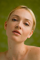 Beauty photo of blonde woman
