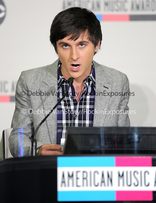 Mitchell Musso at The 2011 American Music Awards Nomination Announcements  held at JW Marriott Los Angeles at L.A. LIVE Gold Ballroom Salon 3 in Los Angeles, California on October 11,2011                                                                               © 2011 DVS / Hollywood Press Agency