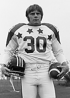 Jim Young 1970 Canadian Football League Allstar team. Copyright photograph Ted Grant