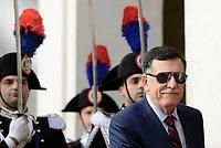 Roma, 7 Maggio 2019<br /> Fayez al Sarraj.<br /> Il Presidente Conte ha incontrato, a Palazzo Chigi, il Presidente del Consiglio Presidenziale del Governo di Accordo Nazionale della Libia, Fayez al Serraj.